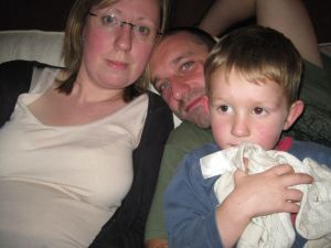 Mummy, Daddy and Patrick