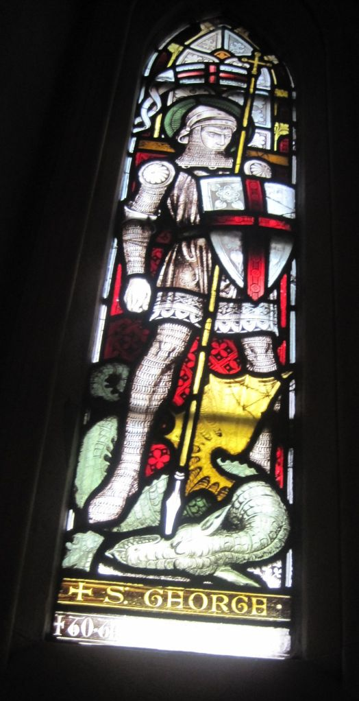 St George and the Dragon at Dublin Cathedral