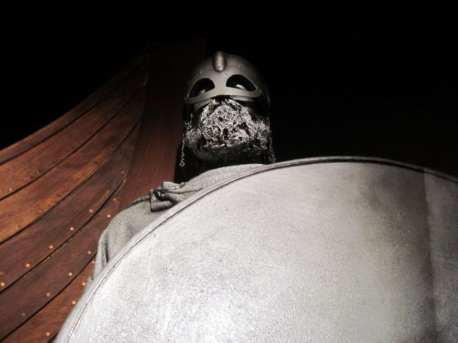 A viking at the Dublinia Museum